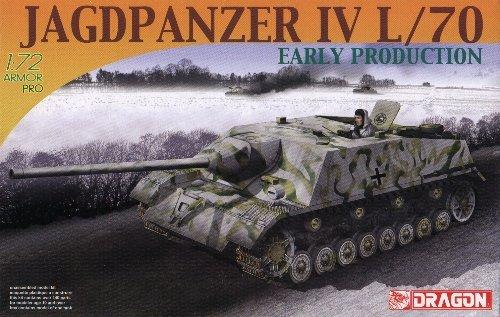 JAGDPANZER IV L/70 EARLY PRODUCTION - 1/72 DML Dragon 7307