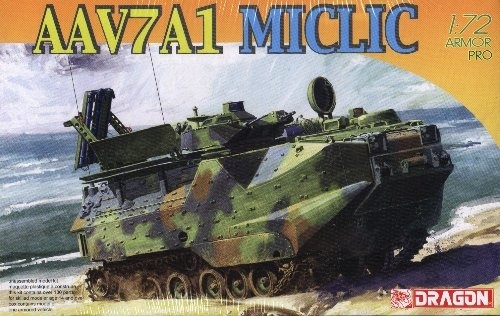 AAV7A1 MICLIC Mine Clearing Line Charge - 1/72 DML Dragon 7318