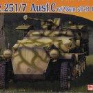 SdKfz 251/7 AUSF C with 2.8cm sPzB 41 Anti-Tank Gun - 1/72 DML Dragon 7315