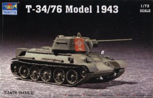 T-34/76 Model 1943 - 1/72 Trumpeter 7208
