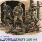 GERMAN FALLSCHIRMJAGER MONTE CASSINO 1944 - 1/35 DML Dragon 6005