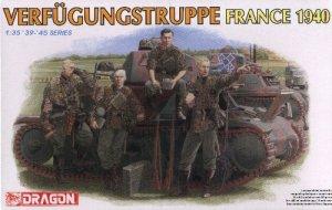 VERFUGUNGSTRUPPE FRANCE 1940 - 1/35 DML Dragon 6309