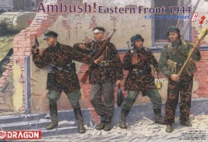 AMBUSH! EASTERN FRONT 1944 - 1/35 DML Dragon Gen2 6333