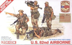 U.S. 82nd AIRBORNE - 1/35 DML Dragon 3006
