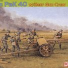 7.5cm PaK40 ANTI-TANK GUN with HEER GUN CREW - 1/35 DML Dragon Premium Edition 6433