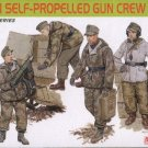 GERMAN SELF-PROPELLED GUN CREW - 1/35 DML Dragon Premium Edition 6530