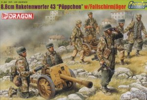 8.8cm RAKETENWERFER 43 PUPPCHEN with FALLSCHIRMJAGER - 1/35 DML Dragon Premium Edition 6528