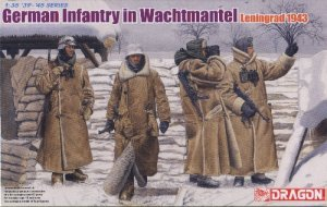 GERMAN INFANTRY IN WACHTMANTEL LENINGRAD 1943 - 1/35 DML Dragon 6518