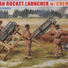 GERMAN ROCKET LAUNCHER with CREW - 1/35 DML Dragon 6509