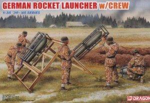GERMAN ROCKET LAUNCHER with CREW - 1/35 DML Dragon 6509