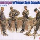 FALLSCHIRMJAGER with KURZER 8cm GRANATWERFER 42 - 1/35 DML Dragon Gen2 6373