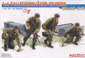 1st FALLSCHIRMJAGER DIVISION HOLLAND 1940 - 1/35 DML Dragon Gen2 6276