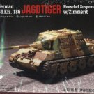 JAGDTIGER HENSCHEL SUSPENSION with ZIMMERIT - 1/72 Trumpeter 7293