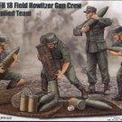 GERMAN s.FH 18 FIELD HOWITZER GUN CREW AMMO SUPPLIED TEAM - 1/35 Trumpeter 426