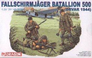 FALLSCHIRMJAGER BATALLION 500 DRVAR 1944 - 1/35 DML Dragon 6145