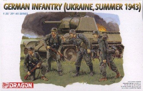 GERMAN INFANTRY UKRAINE SUMMER 1943 - 1/35 DML Dragon 6153