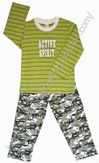 FunActive 2 piece Pajamas (TBB206GRN)