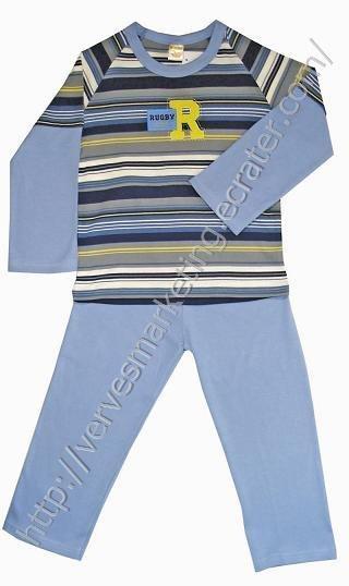 FunActive 2 piece Pajamas (TBN228BL)