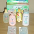 NEW Infant JOHNSONS TAKE ALONG PACK for BABY 6 Piece Boxed Set