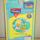 New/Sealed LEAP FROG LeapPad LEARNING SYSTEMS A Day at Moss Lake CARTRIDGE and BOOK