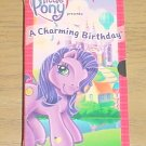 Hasbro MY LITTLE PONY VIDEO A Charming Birthday VHS