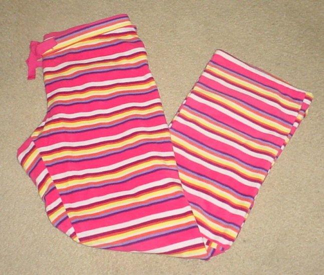 NWT Old Navy PERFORMANCE FLEECE PANTS Lounge/Sleep XLTALL Pink Stripe