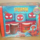SEALED Official Marvel SPIDERMAN COLLECTIBLE MUG SET Gift Pack Circa 2004