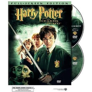 HARRY POTTER Chamber of Secrets 2003 DVD NEW/SEALED 2 Disc Edition Full Screen Movie