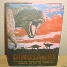 New ULTIMATE BOOK of DINOSAURS Hardcover 2004 Illustrated Children's Book w/FREE DINO PUZZLE