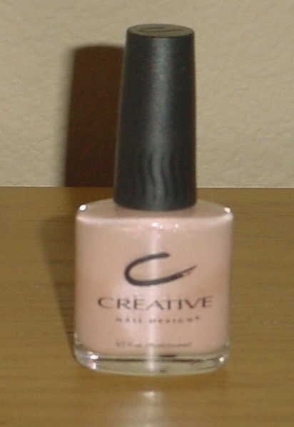 CREATIVE NAIL DESIGN POLISH Apple Cobbler Color #279 Shimmer Nail Lacquer 1/2 oz