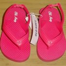 New TODDLER Old Navy FLIP FLOPS Thong Sandals SIZE 6 HOT PINK Shoes
