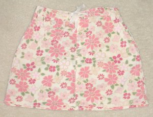 GIRLS Old Navy PRINT SKIRT Mini SIZE 4 PINK 100% Cotton