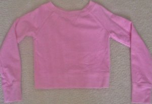 TODDLER Girls SWEATSHIRT Old Navy Top SIZE 3T PINK Cotton/Spandex