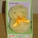 New CHIRPING  BABY CHICK TOY Easter Stuffed Animal YELLOW Gift Decor
