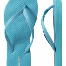 NEW Old Navy FLIP FLOPS Ladies Thong Sandals SIZE 11 AQUA BLUE Shoes