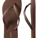 NEW LADIES Old Navy FLIP FLOPS Thong Sandals 11M BROWN Shoes