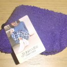 NEW Ladies ST JOHNS BAY SLIPPER SOCKS Cozy Crew One Size PURPLE