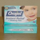 NEW Baby Orajel TEETHING PAIN RELIEF Cherry Flavored Gel Full Size