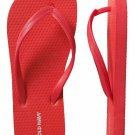 NEW Old Navy CLASSIC FLIP FLOPS Thong Sandals SIZE 8M  RED Shoes