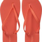 LADIES Old Navy FLIP FLOPS Thong Sandals SIZE 7M ORANGE Shoes