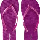New LADIES Old Navy FLIP FLOPS Thong Sandals SIZE 8 MAGENTA Shoes