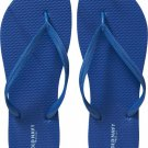 New LADIES Old Navy FLIP FLOPS Thong Sandals SIZE 8M ROYAL BLUE Shoes