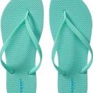 NEW Ladies FLIP FLOPS Old NavyThong Sandals SIZE 8M SEAFOAM GREEN Shoes