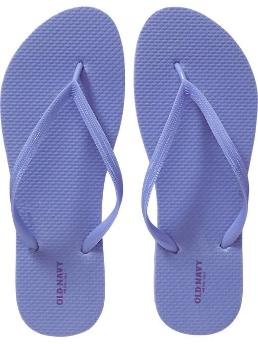 New LADIES Old Navy FLIP FLOPS Thong Sandals SIZE 7M LILAC Shoes
