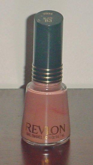 NEW Revlon NAIL POLISH Creme Enamel #83 SLATE Full Size Bottle RARE