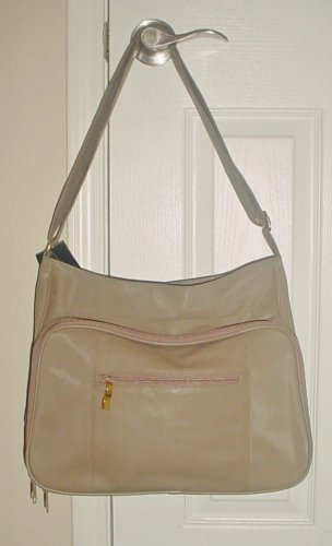 New TOTE PURSE No Boundaries Large Bag TAUPE  Shoulderbag/Crossbody