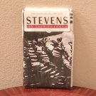NWT Stevens PILLOWCASES Pack of 2 STANDARD Cotton Blend BLACK/WHITE Print