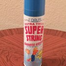 New SUPER STRING Play Silly Fun Streamer Shoots Great BLUE 3.5 oz