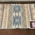 NWT AREA RUG American Lifestyle Kitchen Hall Bath DESERT BLUE Home Decor