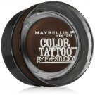 MAYBELLINE COLOR TATTOO EYESHADOW  24 Hr Creme Gel CHOCOLATE SUEDE